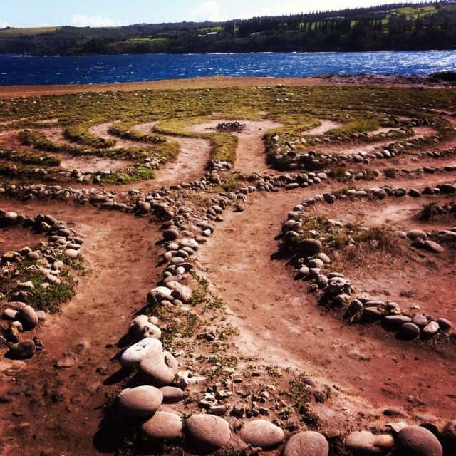Walk a Labyrinth... to find quiet in an active meditation.